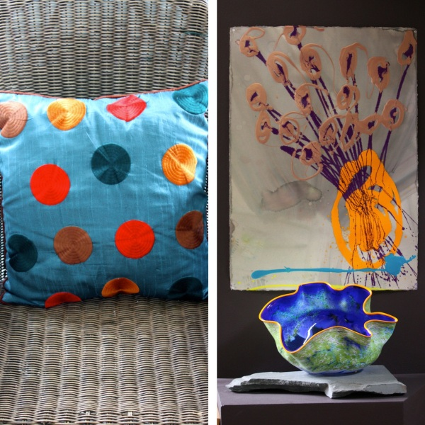 pillow chihuly
